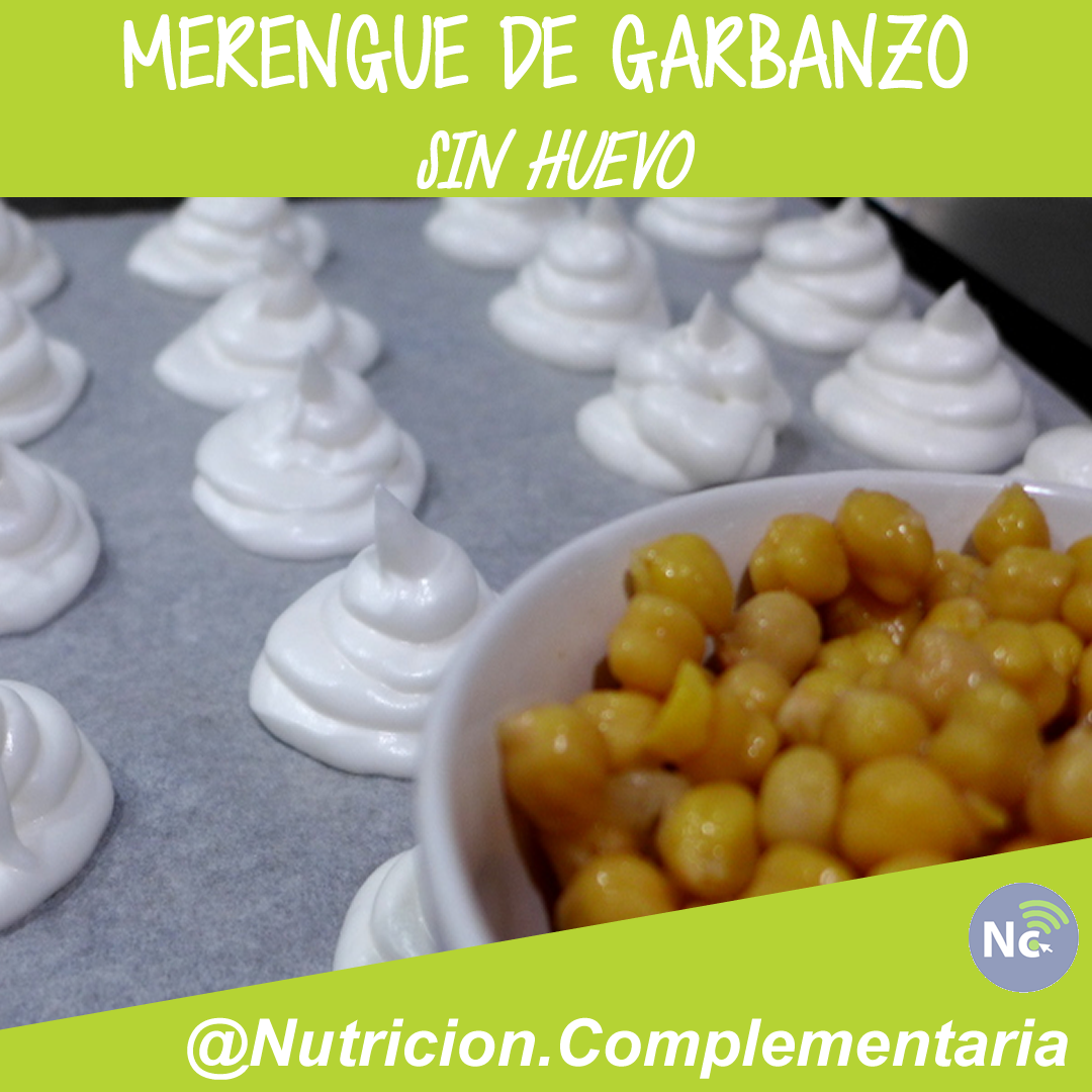 Merengue de Garbanzo sin huevos